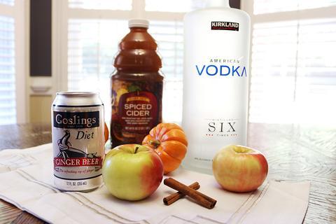Fall Apple Cider Mule