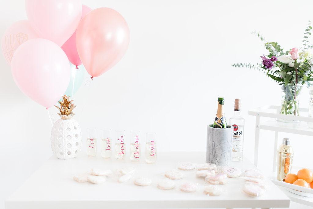 Shades Of Pink Bridal Shower