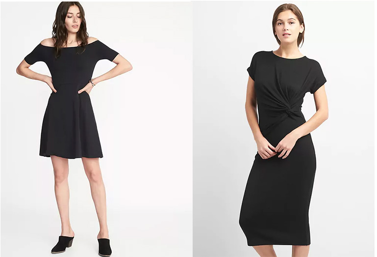 Spring/Summer Little Black Dresses