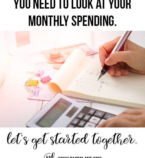 The Painful Truth: You need to look at your monthly spending.